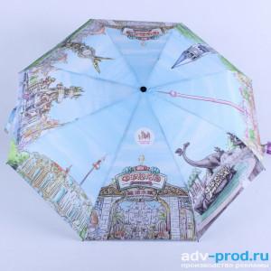 Печать логотипа и изображения на зонтах