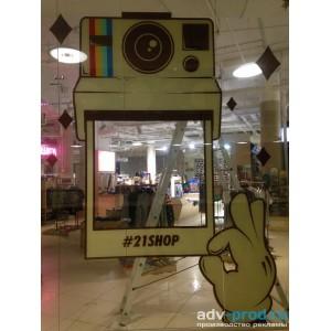 Витрина в магазине 21shop