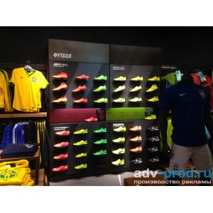 Оформление магазина Nike